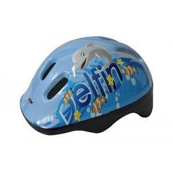 Kask rowerowy dziecięcy AXER BIKE Happy Delfin (rozmiar M)