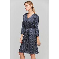 0d308fb9fa suknie sukienki szara sportowa sukienka z dekoltem v bez rekawow (od ...