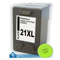 1 x Tusz do HP 21 XL BLACK 22ml Eprom