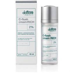 Dottore - C-Flush Cream Rich - Odżywczo - przeciwzmarszczkowy krem z witaminą C dla suchej skóry - 30 ml - DOSTAWA GRATIS! Kupując ten produkt otrzymujesz darmową dostawę !