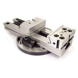 Imadło maszynowe precyzyjne poziomo - pionowe obrotowe 150mm, FPZV 150/300
