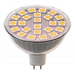 Żarówka LED EMOS Z72440 24LED SMD 5050 MR16 / Ciepła