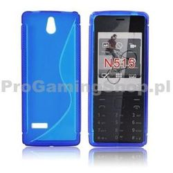 Silicone Case for Nokia 515, Blue