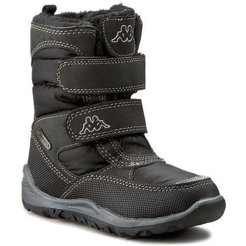 c4611114 Śniegowce KAPPA - Tundra Tex 260484K Black 1111 - porównaj zanim kupisz