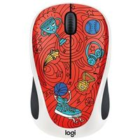 Mysz LOGITECH Doodle Collection Champion Coral (910-005054)