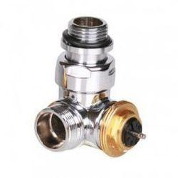 Zawór trójosiowy termostatyczny Terma, gwint zewnętrzny, Lewy - chrom TGZTCR002