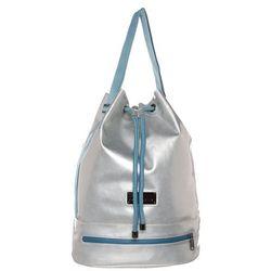adidas by Stella McCartney FASHION SHAPE Torba sportowa silver matte/blue/gun metal