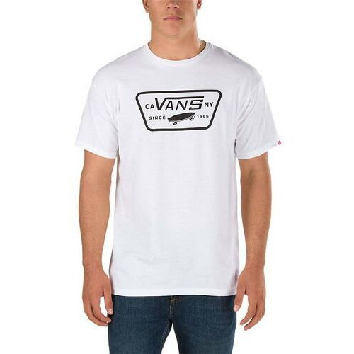 koszulka VANS - Full Patch White/Black (YB2)