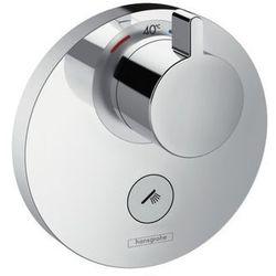 Bateria Hansgrohe Select hansgrohe bateria termostatyczna showerselect s podtynkowa highflow z 1 zaworem i dodatkowym wyjściem element zewnętrzny chrom - 15742000 15742000