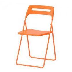 NISSE Krzesło składane, pomarańczowy