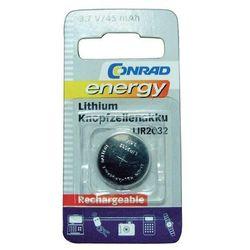 Akumulator guzikowy, litowy Conrad Energy LIR2032, 3,6V, 45 mAh