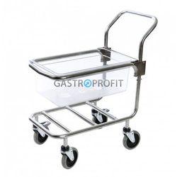 Wózek z pojemnikiem