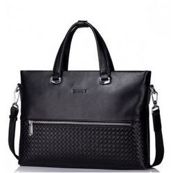Męska torba na ramię z luksusowej serii Czarna