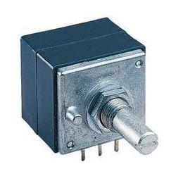 Potencjometr stereo ALPS RK27112 500KAX2