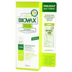 BIOVAX Odżywka dwufazowa do włosów przetłuszczających się 150ml