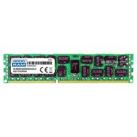 Pamięć RAM 1x 4GB GoodRAM ECC REGISTERED DDR3 2Rx4 1600MHz PC3-12800 RDIMM | W-MEM1600R3D44G