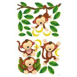 Dekoracja ścienna Małe Małpki