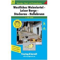 Dolna Austria Weinviertel część zachodnia mapa turystyczna 1:50 000 Freytag & Berndt