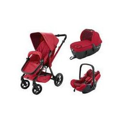 Wózek wielofunkcyjny Wanderer 3w1 Travel Set Concord (ruby red)