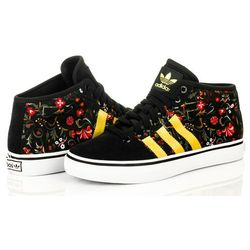 Buty Adidas Originals Adria Mid S77386 - damskie czarne