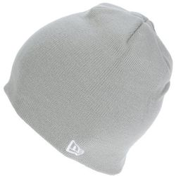 czapka New Era Basic Skull Knit - Gray
