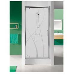 SANPLAST drzwi Tx 5 90 otwierane, szkło CR DJ/TX5b-90 600-271-1050-38-371