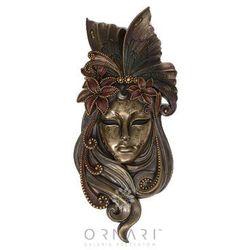 Maska wenecka lilia dekoracja ściany - Veronese