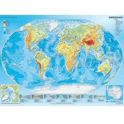 Świat fizyczny Mapa ścienna 1:43 300 000
