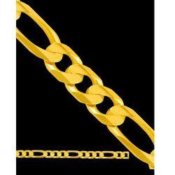 50cm łańcuszek męski złoty FIGARO
