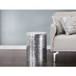 Nowoczesny stolik kawowy - lawa - aluminium - KANO