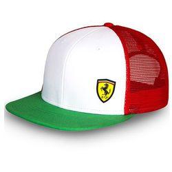 Czapka baseballowa Flat Brim Tricolore green Ferrari F1 Team 2016
