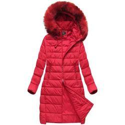 0075ee5e25626 kurtka pikowana czerwona b2278 w kategorii Kurtki damskie - porównaj ...