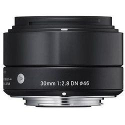 Obiektyw SIGMA Digital A 30/2.8 DN Micro 4/3 (MFT) Czarny