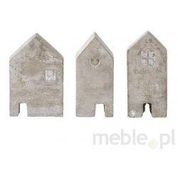 Figurki Dekoracyjne House Semento (3/Set) Bovictus k161043