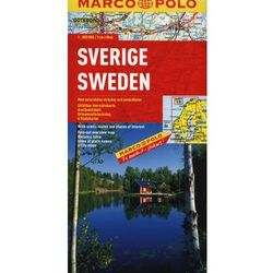 Szwecja. Mapa Marco Polo W Skali 1:800 000