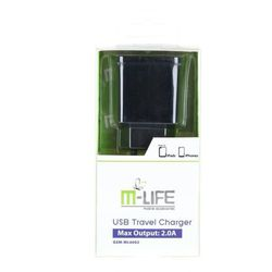 Ładowarka M-Life USB 2A (ML0002) Darmowy odbiór w 19 miastach!