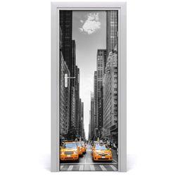 Fototapeta Samoprzylepna Drzwi Taksówki Nowy Jork