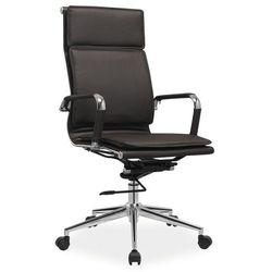 Fotel biurowy Q-253 brązowy