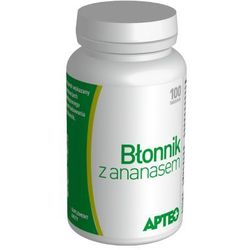 APTEO Błonnik z ananasem x 100 tabletek