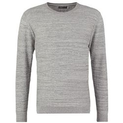 Jack & Jones JJCODURWIN REGULAR FIT Sweter light grey melange