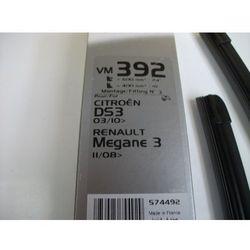 574492 KPL piór wycieraczek 600+400mm VM392 Citroën DS3 Renault MEGANE 3 (10/08>)