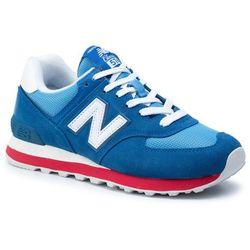 buty meskie sneakersy new balance ml565aab szary niebieski w