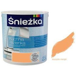 Farba lateksowa Kuchnia i Łazienka Śnieżka Soczyste Mango 2.5l