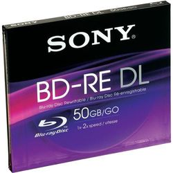 Sony BD-RE 50 GB 2x, 1 szt.