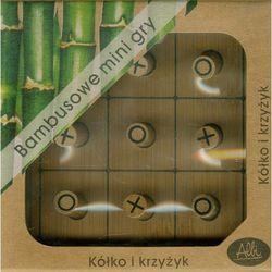 Bambusowe mini gry Kółko i krzyżyk