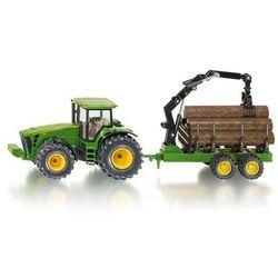 SIKU Traktor z Przyczepą Leśną
