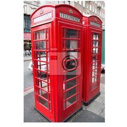 Plakat Public budka telefoniczna w Londynie.