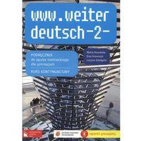 www.weiter deutsch 2 Podręcznik z płytą CD (opr. broszurowa)