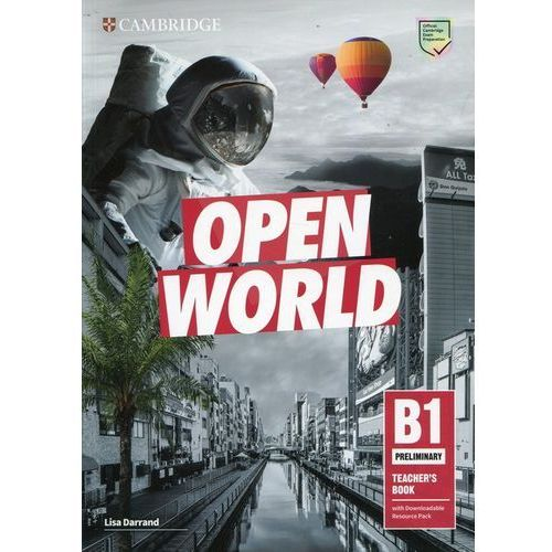 Open World Preliminary Teacher's Book with Downloadable Resource Pack (opr. miękka)