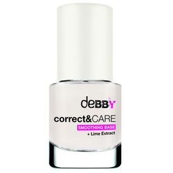 Debby, Correct & Care Smoothing Base. Bazowy lakier do paznokci, 7,5ml - Debby